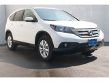 2013 White Diamond Pearl Honda CR-V EX-L #74489695