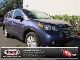 2013 Twilight Blue Metallic Honda CR-V EX #74543676
