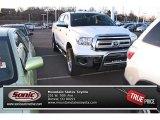 2011 Super White Toyota Tundra SR5 CrewMax 4x4 #74543647
