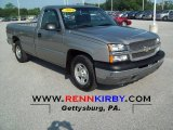 2003 Light Pewter Metallic Chevrolet Silverado 1500 Regular Cab #74543887