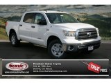 2013 Super White Toyota Tundra CrewMax 4x4 #74543641