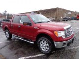 2013 Ruby Red Metallic Ford F150 XLT SuperCrew 4x4 #74543807