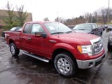 2013 Ruby Red Metallic Ford F150 XLT SuperCab 4x4 #74543805