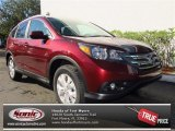 2013 Basque Red Pearl II Honda CR-V EX-L #74543680