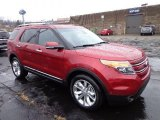2013 Ruby Red Metallic Ford Explorer Limited 4WD #74543798