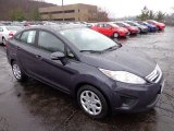 2013 Violet Gray Ford Fiesta SE Sedan #74543794