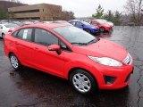 2013 Race Red Ford Fiesta SE Sedan #74543793