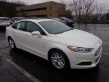 2013 White Platinum Metallic Tri-coat Ford Fusion SE #74543791