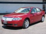 2008 Vivid Red Metallic Lincoln MKZ AWD Sedan #7439627