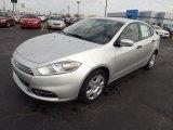 2013 Bright Silver Metallic Dodge Dart SE #74572713