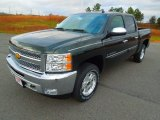 2013 Fairway Metallic Chevrolet Silverado 1500 LT Crew Cab 4x4 #74572889