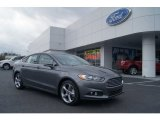 2013 Sterling Gray Metallic Ford Fusion SE 2.0 EcoBoost #74572609
