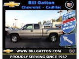 2002 Medium Charcoal Gray Metallic Chevrolet Silverado 1500 LT Extended Cab 4x4 #74572965