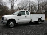 2005 Oxford White Ford F350 Super Duty XLT SuperCab 4x4 Commercial #74572959