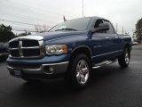 2004 Atlantic Blue Pearl Dodge Ram 1500 SLT Quad Cab 4x4 #74573047