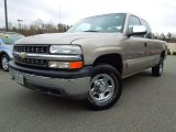 2000 Light Pewter Metallic Chevrolet Silverado 1500 LS Extended Cab 4x4 #74572863