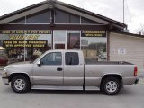 1999 Light Pewter Metallic Chevrolet Silverado 1500 LS Extended Cab #7438612