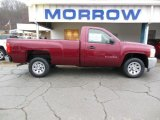 2013 Deep Ruby Metallic Chevrolet Silverado 1500 LS Regular Cab #74572567