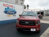 2013 Ruby Red Metallic Ford F150 FX4 SuperCrew 4x4 #74572539