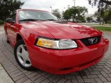 1999 Rio Red Ford Mustang GT Convertible #74573018