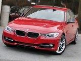 2012 Crimson Red BMW 3 Series 335i Sedan #74572639