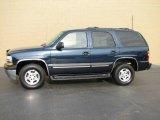 2004 Dark Blue Metallic Chevrolet Tahoe LS #7437879