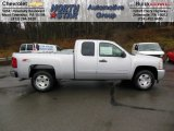 2013 Silver Ice Metallic Chevrolet Silverado 1500 LT Extended Cab 4x4 #74572625