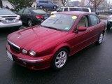 2005 Jaguar X-Type Radiance Red Metallic