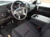 2011 Chevrolet Silverado 1500 LT Regular Cab Ebony Interior