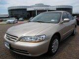 2002 Naples Gold Metallic Honda Accord LX Sedan #7441080