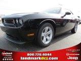 2013 Pitch Black Dodge Challenger R/T #74624537