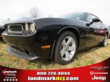 2013 Pitch Black Dodge Challenger SXT #74624536