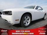 2013 Bright White Dodge Challenger SXT #74624535