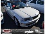 2002 Alpine White BMW 3 Series 330i Convertible #74624673