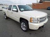2013 White Diamond Tricoat Chevrolet Silverado 1500 LTZ Crew Cab 4x4 #74624928