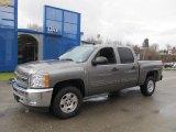 2012 Graystone Metallic Chevrolet Silverado 1500 LT Crew Cab 4x4 #74624410