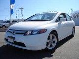 2007 Taffeta White Honda Civic EX Sedan #7430554