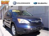 2008 Royal Blue Pearl Honda CR-V EX 4WD #7432886