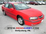 2001 Torch Red Chevrolet Impala LS #74624784
