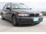 2002 Orient Blue Metallic BMW 3 Series 325xi Wagon #74625162