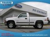 2000 Summit White Chevrolet Silverado 1500 LS Regular Cab 4x4 #74624397