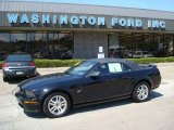 2005 Black Ford Mustang GT Premium Convertible #7439692