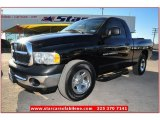 2004 Black Dodge Ram 1500 ST Regular Cab #74624763