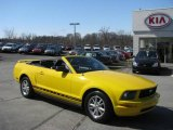 2006 Screaming Yellow Ford Mustang V6 Premium Convertible #7440853