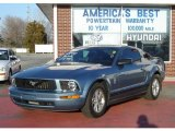 2007 Windveil Blue Metallic Ford Mustang V6 Premium Coupe #7434554