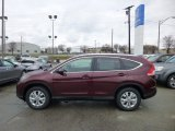 2013 Basque Red Pearl II Honda CR-V EX-L AWD #74624972