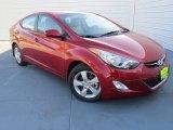 2013 Red Hyundai Elantra GLS #74624620