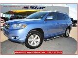2010 Wave Line Blue Pearl Toyota Highlander SE #74624753