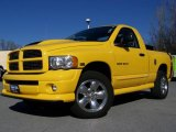 2005 Solar Yellow Dodge Ram 1500 SLT Rumble Bee Regular Cab 4x4 #7430837