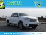 2010 Super White Toyota Tundra Limited CrewMax 4x4 #74625109